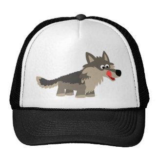 Cute Cartoon Hungry Wolf Hat