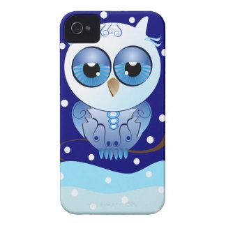 Cute cartoon iPhone 4/4S Case-Mate Snow Owl