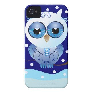Cute cartoon iPhone 4/4S Case Snow Owl