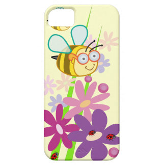 Cute cartoon iPhone 5 /  case-mate with Bees