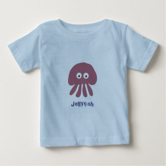 Cute cartoon Jellyfish infant T-shirt