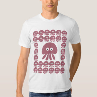 Cute Cartoon Jellyfish / Octopus Tshirts
