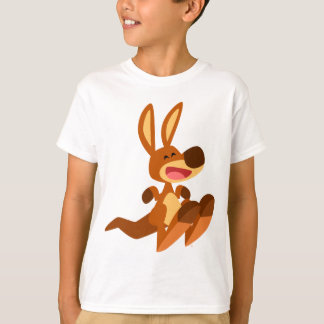 Cute Cartoon Kangaroo Joey Children T-Shirt