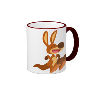 Cute Cartoon Kangaroo Joey Mug