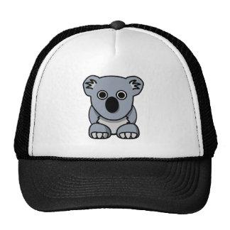Cute cartoon koala bear mesh hat