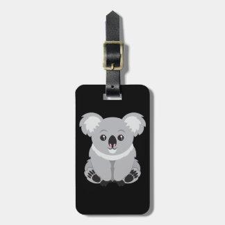 Cute cartoon Koala Bear Luggage Tag