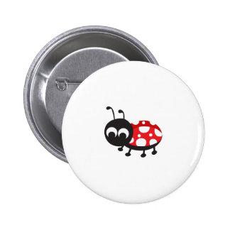 Cute Cartoon Ladybug 6 Cm Round Badge
