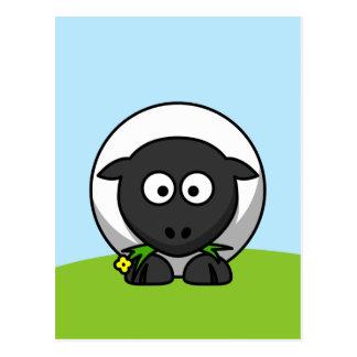 Cute Cartoon Lamb Postcard