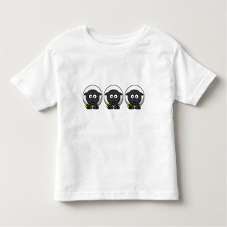 Cute Cartoon Lamb Toddler T-Shirt