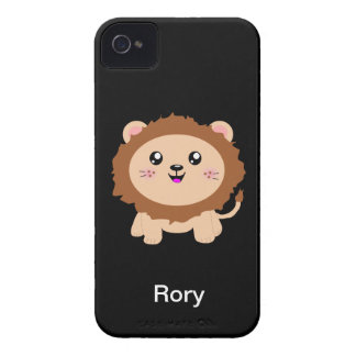 Cute cartoon Lion iPhone 4 Case-Mate Case