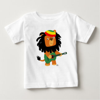 Cute Cartoon Lion of Zion Baby T-shirt