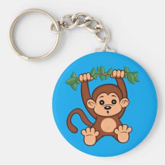 Cute Cartoon Monkey Keychain