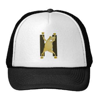 Cute Cartoon Monogram Pony H Mesh Hat