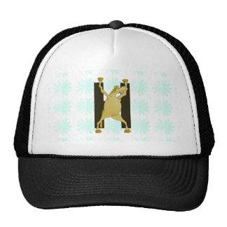 Cute Cartoon Monogram Pony H Mesh Hats