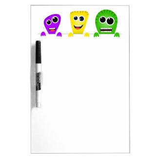 Cute cartoon monsters gang Dry-Erase boards