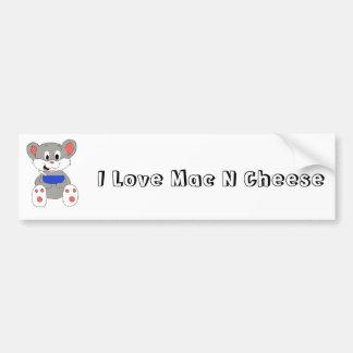 Cute Cartoon Mouse Bumper Stickers