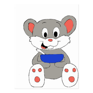 Cute Cartoon Mouse Post Cards
