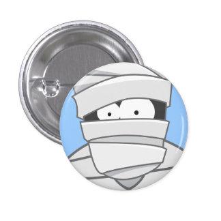 Cute Cartoon Mummy Halloween Pin Badge Button