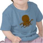 Cute Cartoon Octopus Baby T-Shirt