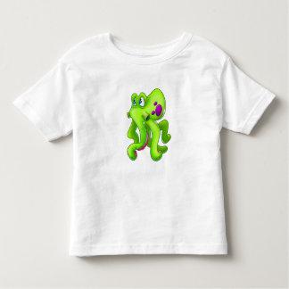 Cute cartoon Octopus kids shirt