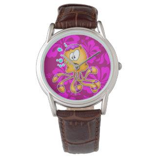 cute cartoon octopus watch