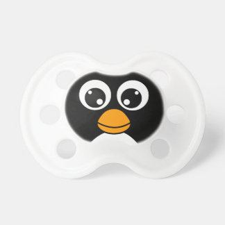 Cute Cartoon Penguin Black and White Dummy
