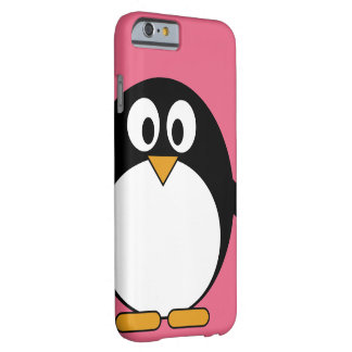 Cute Cartoon Penguin - iPhone 4 4s Barely There iPhone 6 Case