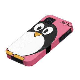 Cute Cartoon Penguin - iPhone 4 4s Vibe iPhone 4 Cases