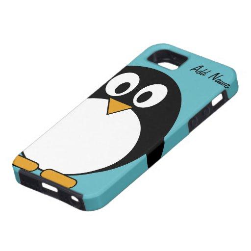 Cute Cartoon Penguin - iPhone 5  iPhone 5 Cover