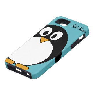 Cute Cartoon Penguin - iPhone 5  Case For The iPhone 5