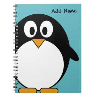 Cute Cartoon Penguin Notebooks