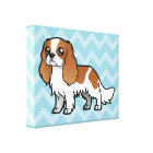 Cute Cartoon Pet Canvas Print