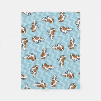 Cute Cartoon Pet Fleece Blanket