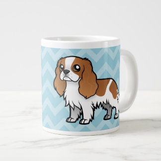 Cute Cartoon Pet Large Coffee Mug