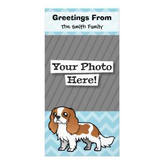 Cute Cartoon Pet Personalized Photo Card