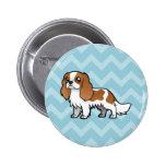 Cute Cartoon Pet Pinback Buttons
