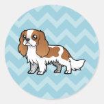 Cute Cartoon Pet Round Sticker