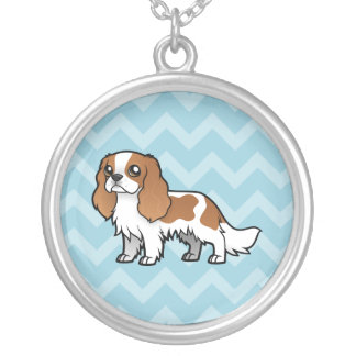 Cute Cartoon Pet Silver Plated Necklace