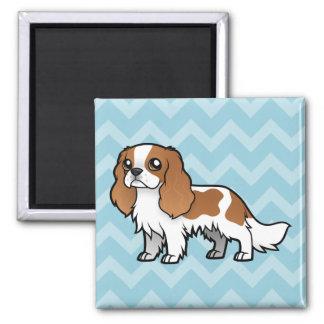 Cute Cartoon Pet Square Magnet