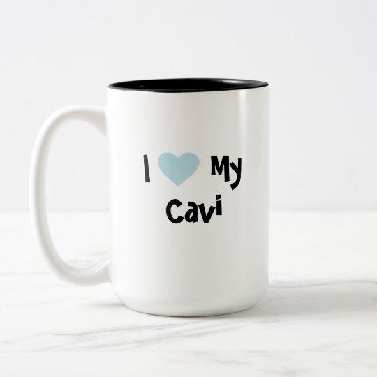 Cute Cartoon Pet Two-Tone Coffee Mug