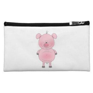Cute Cartoon Pig Cosmetic Bag