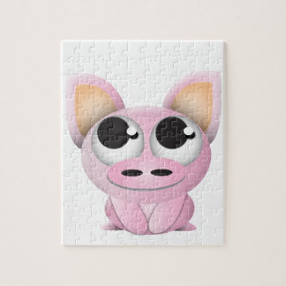 Cute Cartoon Pig Jigsaw Puzzle