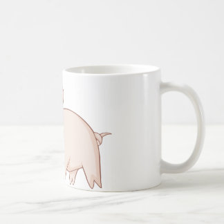 Cute Cartoon Pig Shirts Mug