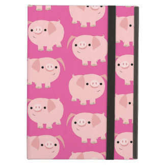 Cute Cartoon Pigs Powis iPad Cases