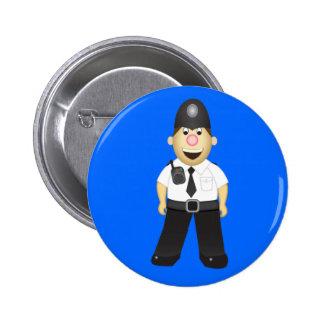 Cute Cartoon Policeman Pin