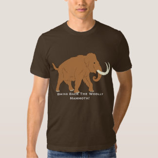 Cute Cartoon Pro Woolly Mammoth T-Shirt