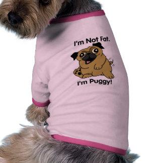 Cute Cartoon Pug Dog Shirt