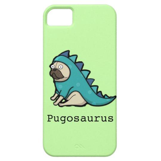 Cute cartoon Pug 'Pugosaurus' iPhone 5 Cover