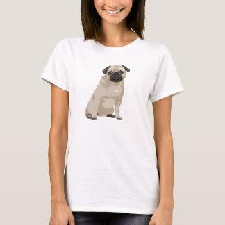 Cute Cartoon Pug T Shirt