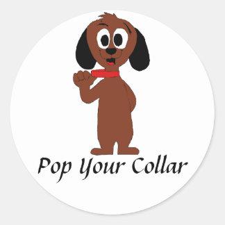 Cute Cartoon Puppy Sticker